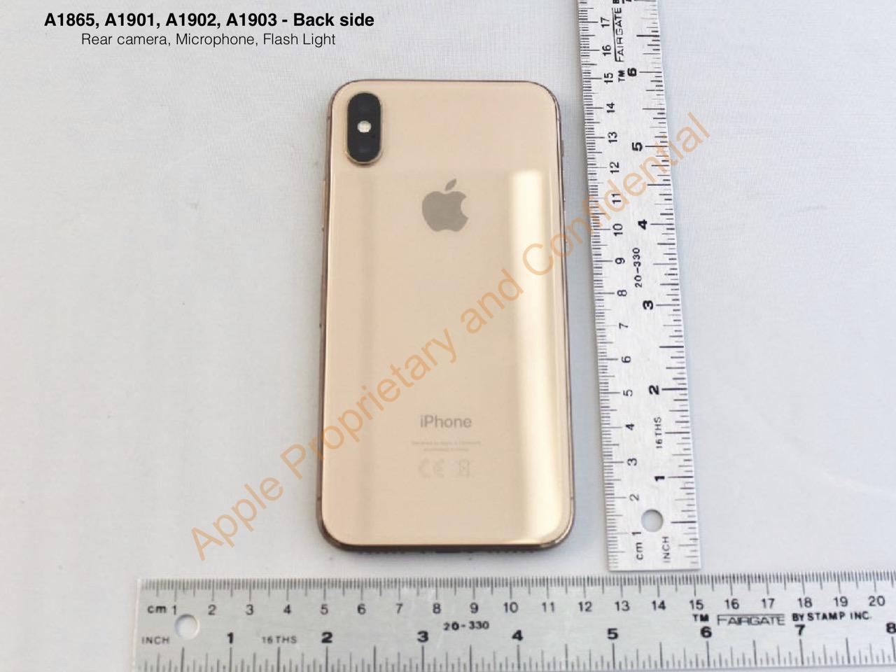iPhone X、未発売「ゴールド」の実機写真が公開される