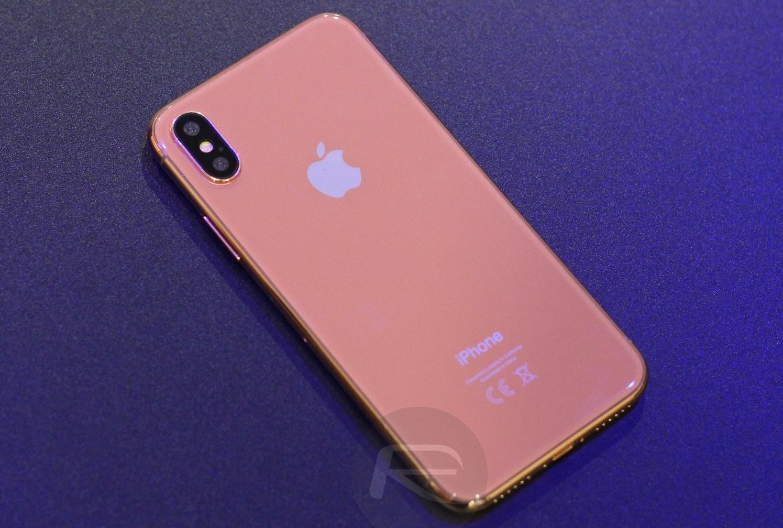 「iPhone X」の新色ゴールドは遅れて登場する?