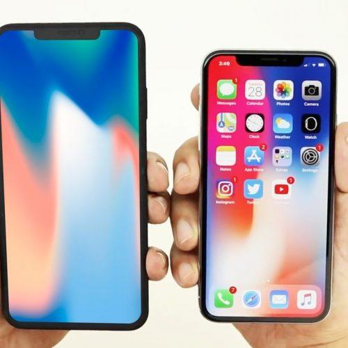 """新型「iPhone X Plus」、6.5インチのディスプレイ写真が流出。""""切り欠き""""小型化せず?"""