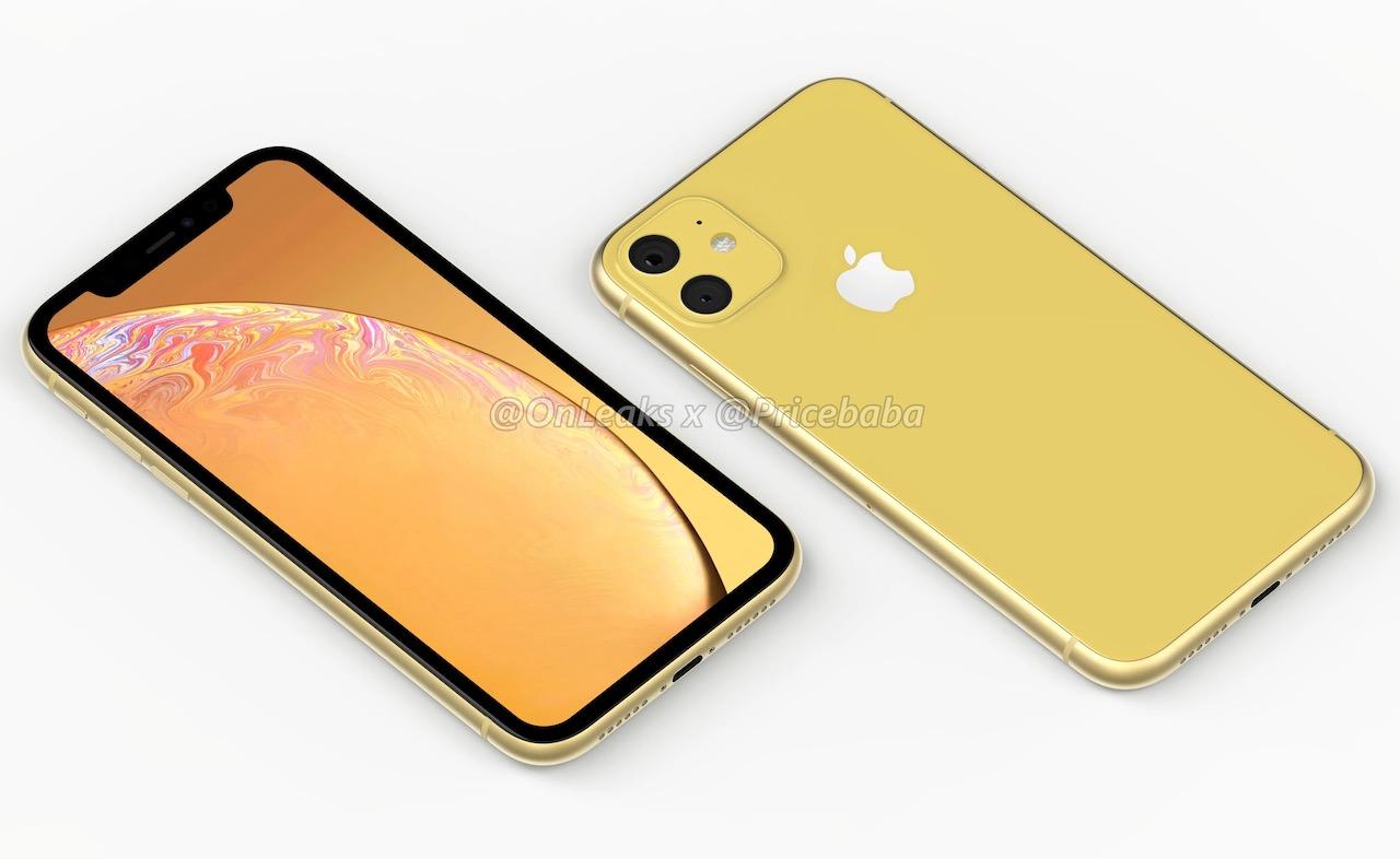 新型iPhone XR(2019)のデザインはこんな感じ?レンダー画像が登場