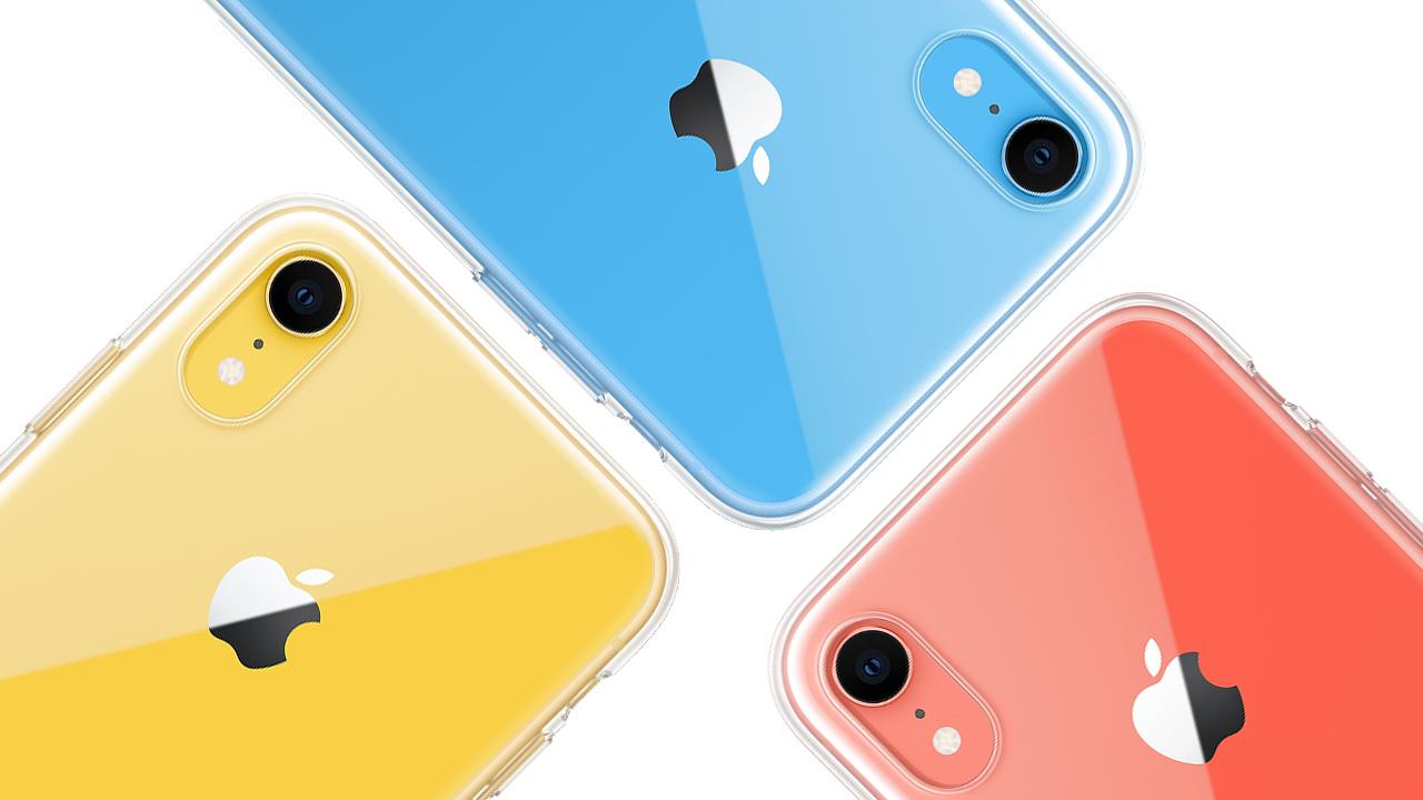 Apple、iPhone XRの純正クリアケースを発売。価格は4,860円