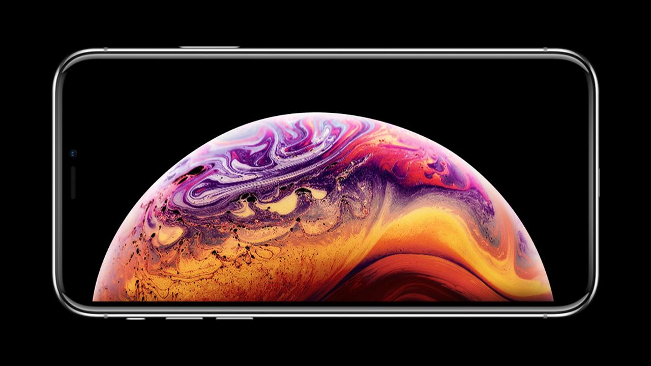 新型「iPhone XS」の壁紙画像が公開