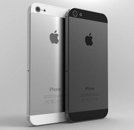 iPhone5では黒と白以外のボディカラーが新たにラインナップに加わる?