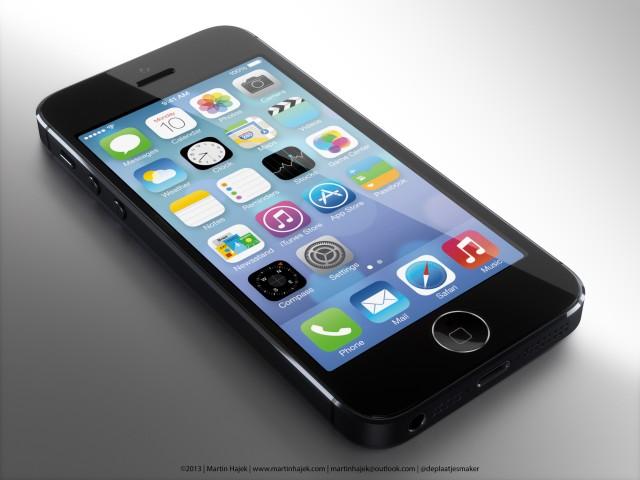 指紋認証を搭載したiPhone 5Sはこんな感じに?モックアップイメージが公開
