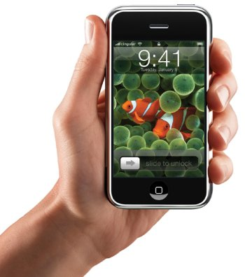 アップル社がiPodケータイ「iPhone」を6月に発売。
