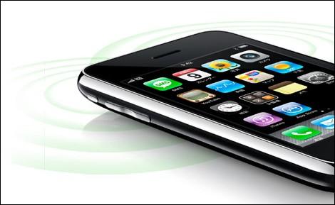 iPhone 3Gの液晶画面が黄色い?