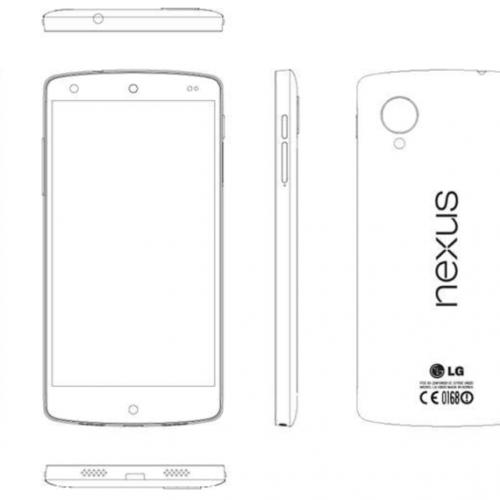 Nexus 5(LG-D821)、2.3GHzのクアッドコアCPUや32GBのROMを搭載。LTEもサポートへ