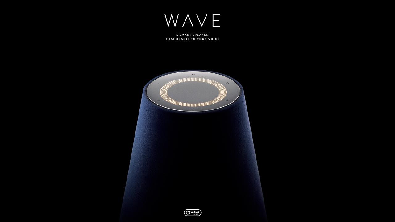 LINE、1万円のAIスピーカー「WAVE」を7月下旬発売。5000円分のLINE MUSIC 無料チケット付き