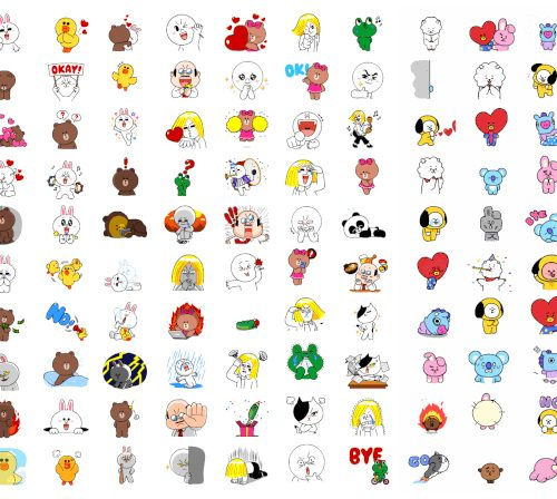 LINE、120種類のアニメ付き無料スタンプを追加。スタンプの追加方法を解説