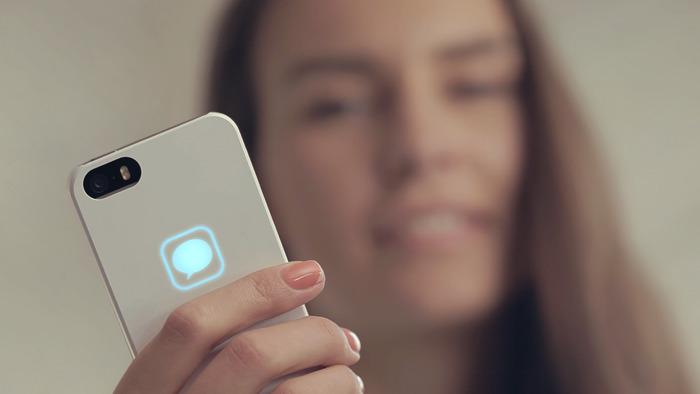 背面のLEDでオシャレに着信通知してくれるiPhoneケース「Lunecase」がKickstarterで支援を開始