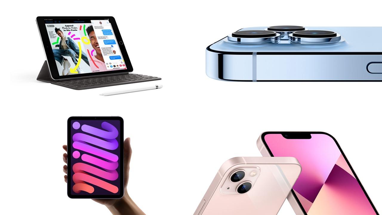 ドコモ、iPhone 13|iPad mini 6|iPad 9を24日発売。予約は17日21時から