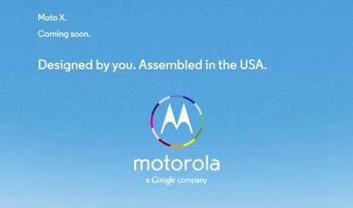Google×モトローラ製「Moto X」の広告が登場!カラーは全12色だったりして!?