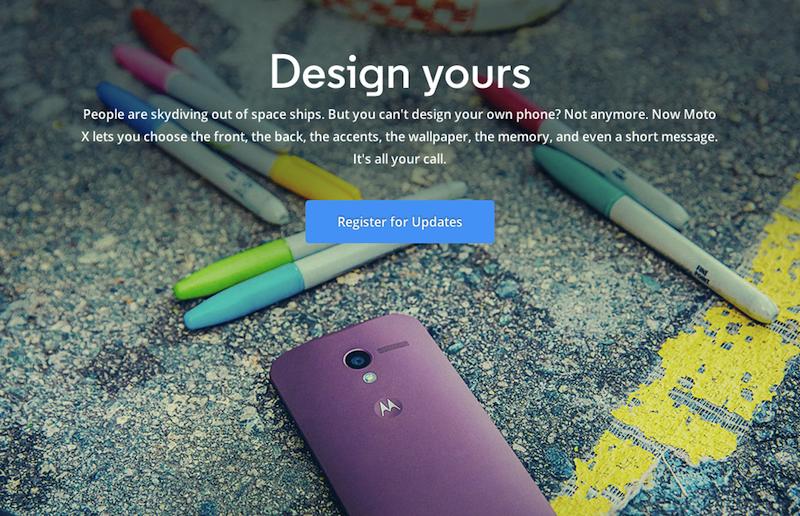 Moto Xが正式発表!ボディのカスマイズが可能なスマートフォンに