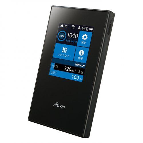 最安値、モバイルWi-Fiルータ「MR04LN」が特選タイムセール