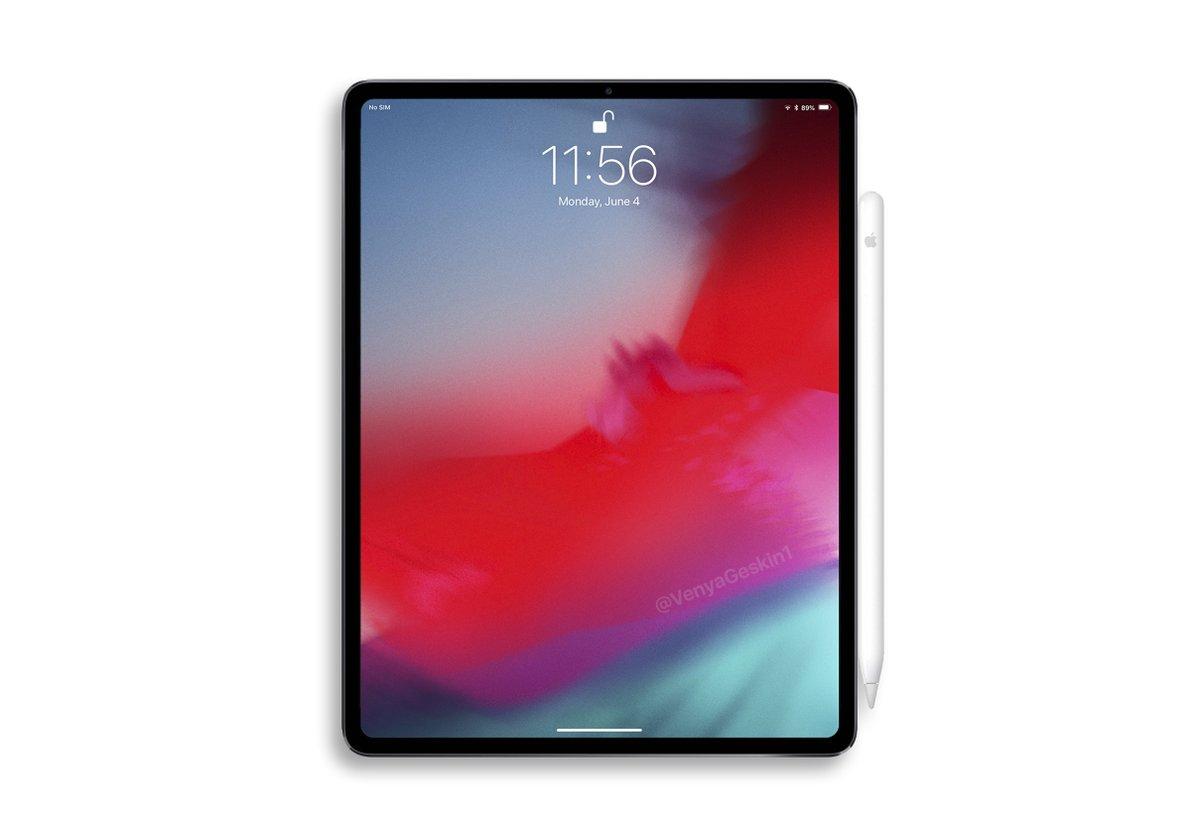 新型「Apple Pencil」、新デザインでジャスチャー操作に対応。iPadにマグネット取付可能に?