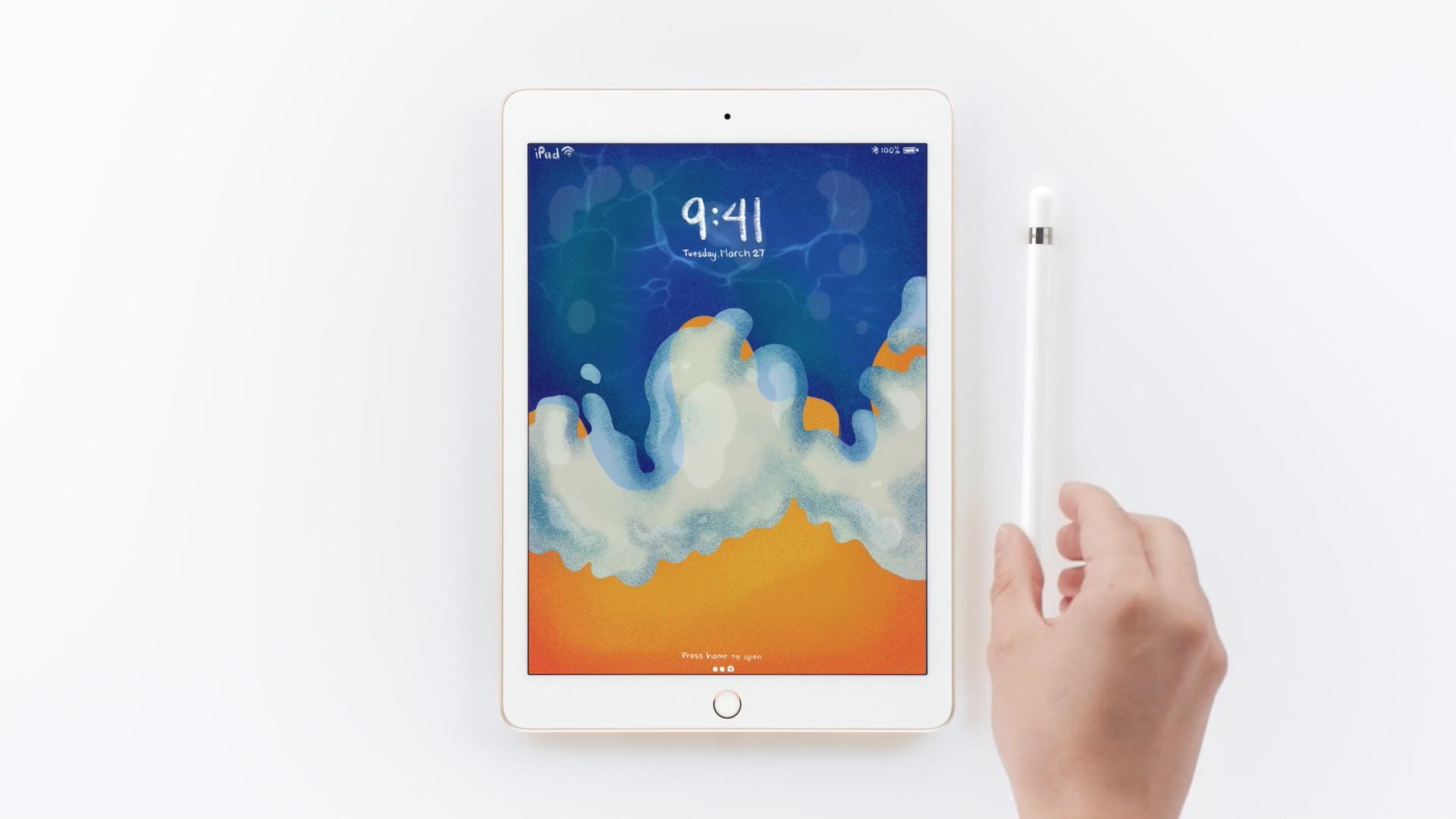 Apple Pencil対応、3.7万円の新型「iPad」登場。新機能・価格・発売日まとめ