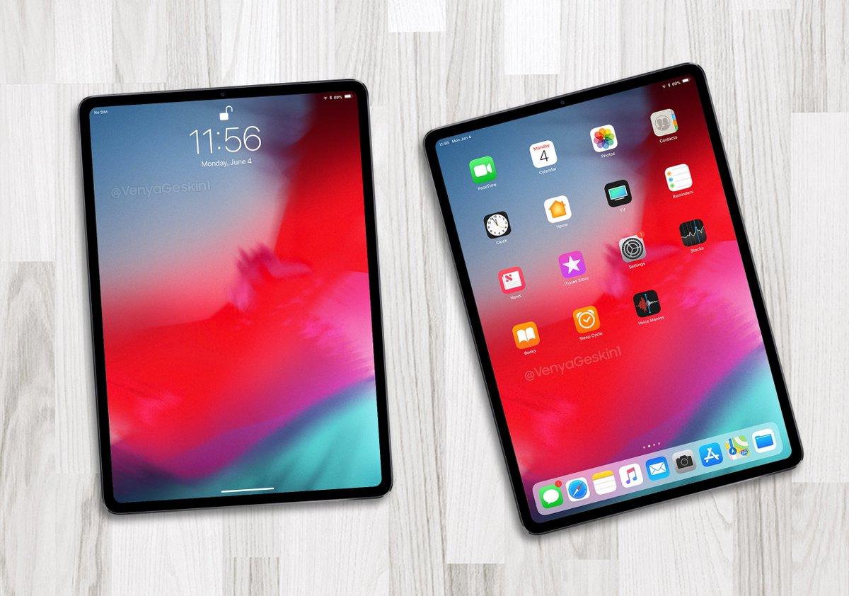 新型iPad Pro、デザインはiPhone SEライク?イヤホン端子廃止、横向きの顔認証は実現せず