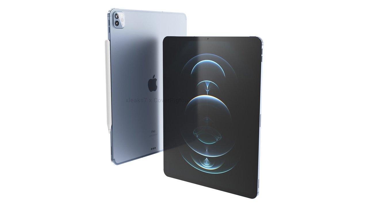 新型iPad Proの画像公開。5G対応、デザインやサイズ変わらず?