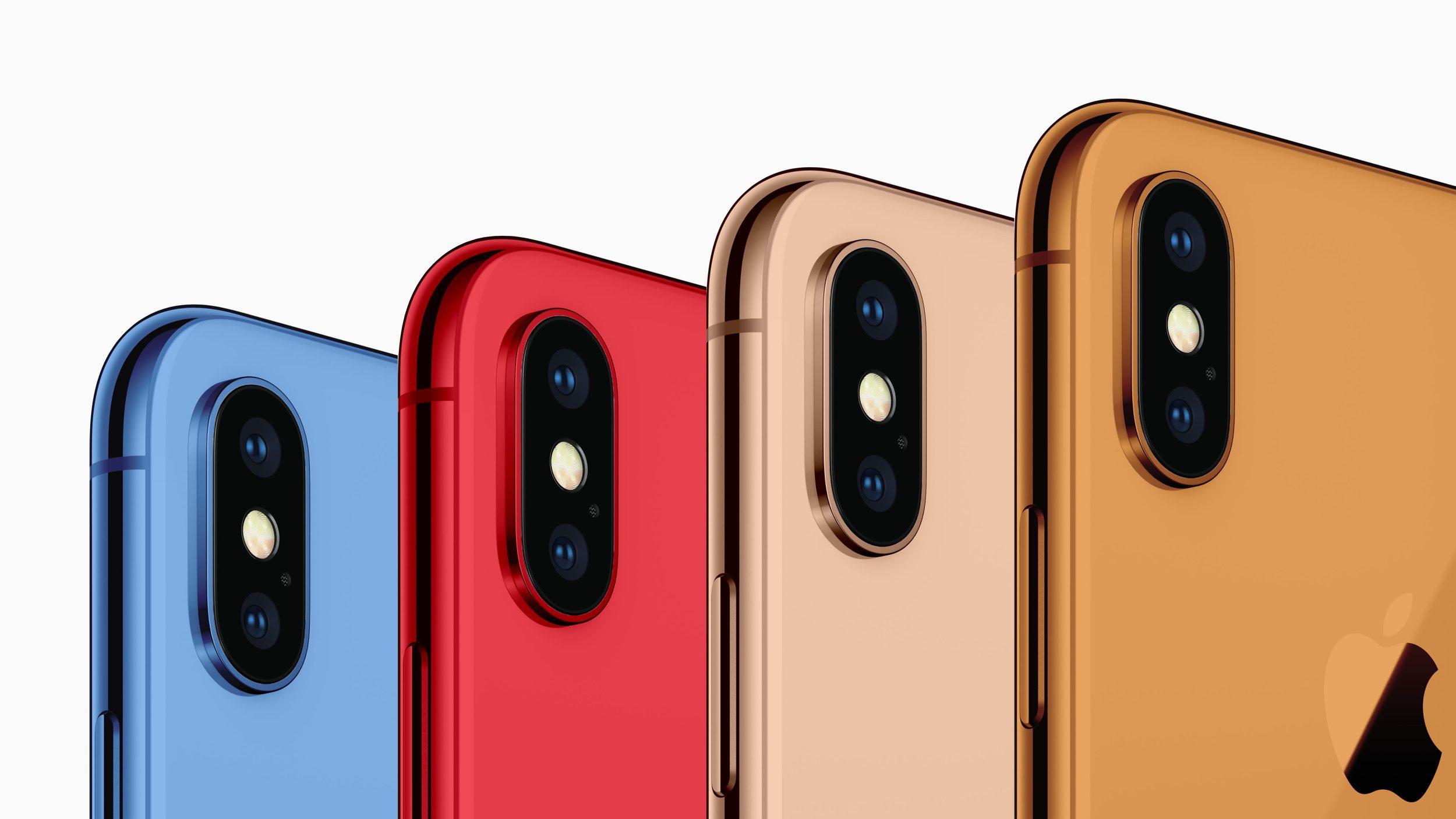 新型iPhone、低価格モデルはオレンジ・ブルー・レッドなど5色展開の噂