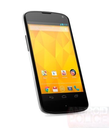 Nexus4のホワイトカラー版のプレス画像がリーク!