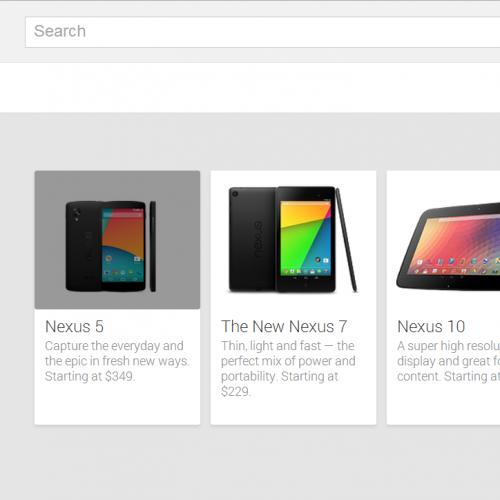 Nexus 5の発表間近!?Google Playストアに一瞬だけ登場してたらしい