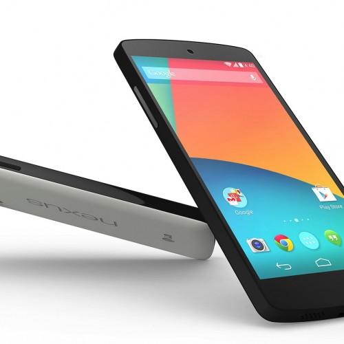 Nexus 5が正式発表!価格は3万9800円、日本でも本日より発売!