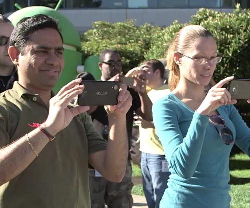 Nexus 5が動作する短い動画と画像がリーク