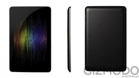 Nexusタブレット「Nexus7」の画像とスペックがリーク。価格は199ドルから。
