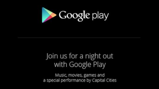 """Google、10月24日にGoogle Playに関するイベント""""night out""""を開催"""