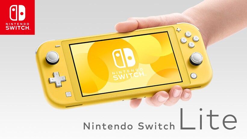 携帯専用「Nintendo Switch Lite」が9月20日発売。スイッチとの違いは?