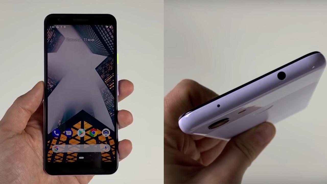 「Pixel 3 Lite」の実機動画が流出。発売は5月ごろ?