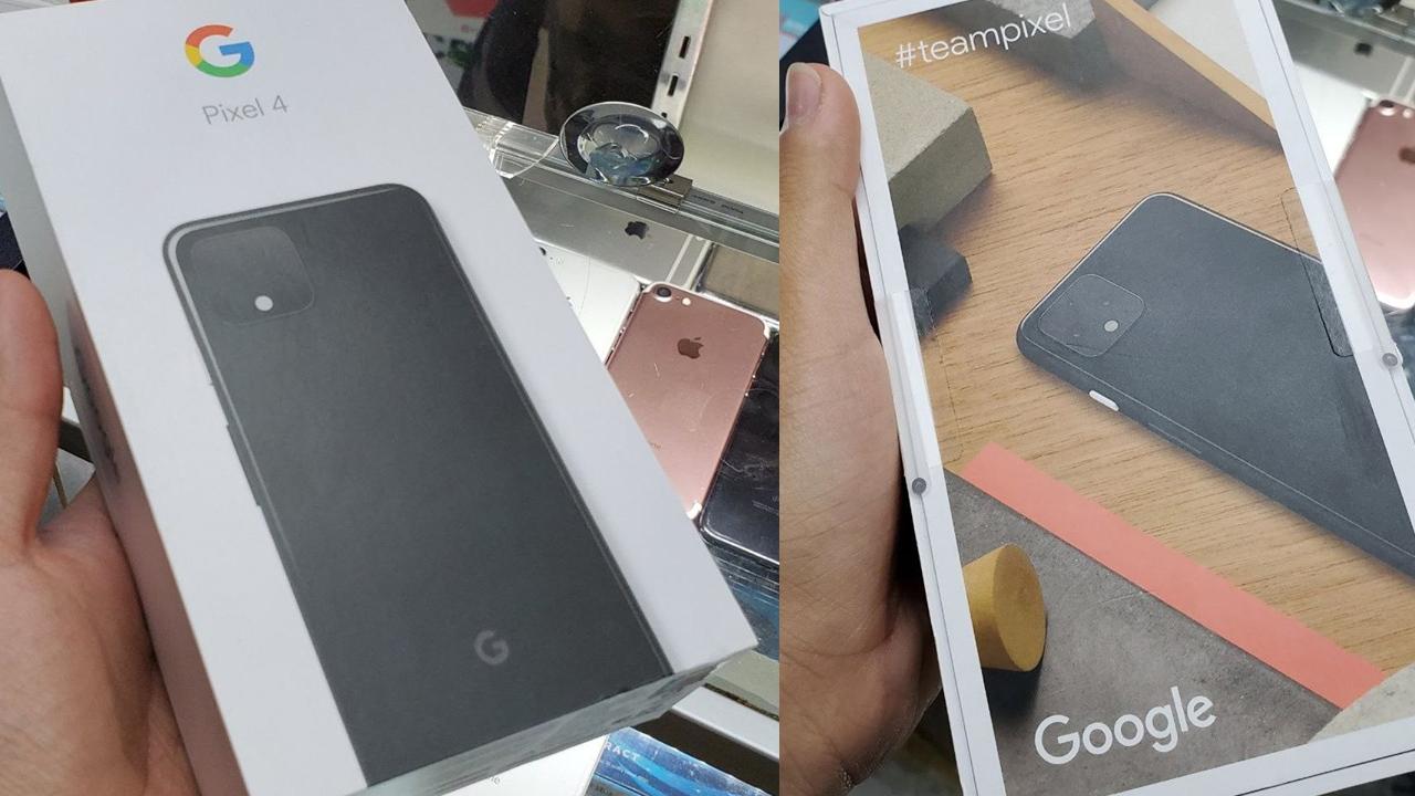 「Pixel 4」、発表直前にパッケージ写真と純正ケースが流出
