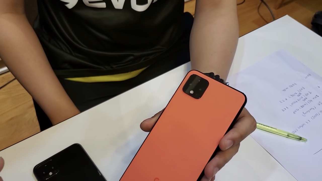 Pixel 4、新色はまた変な名前「オーソーオレンジ」か