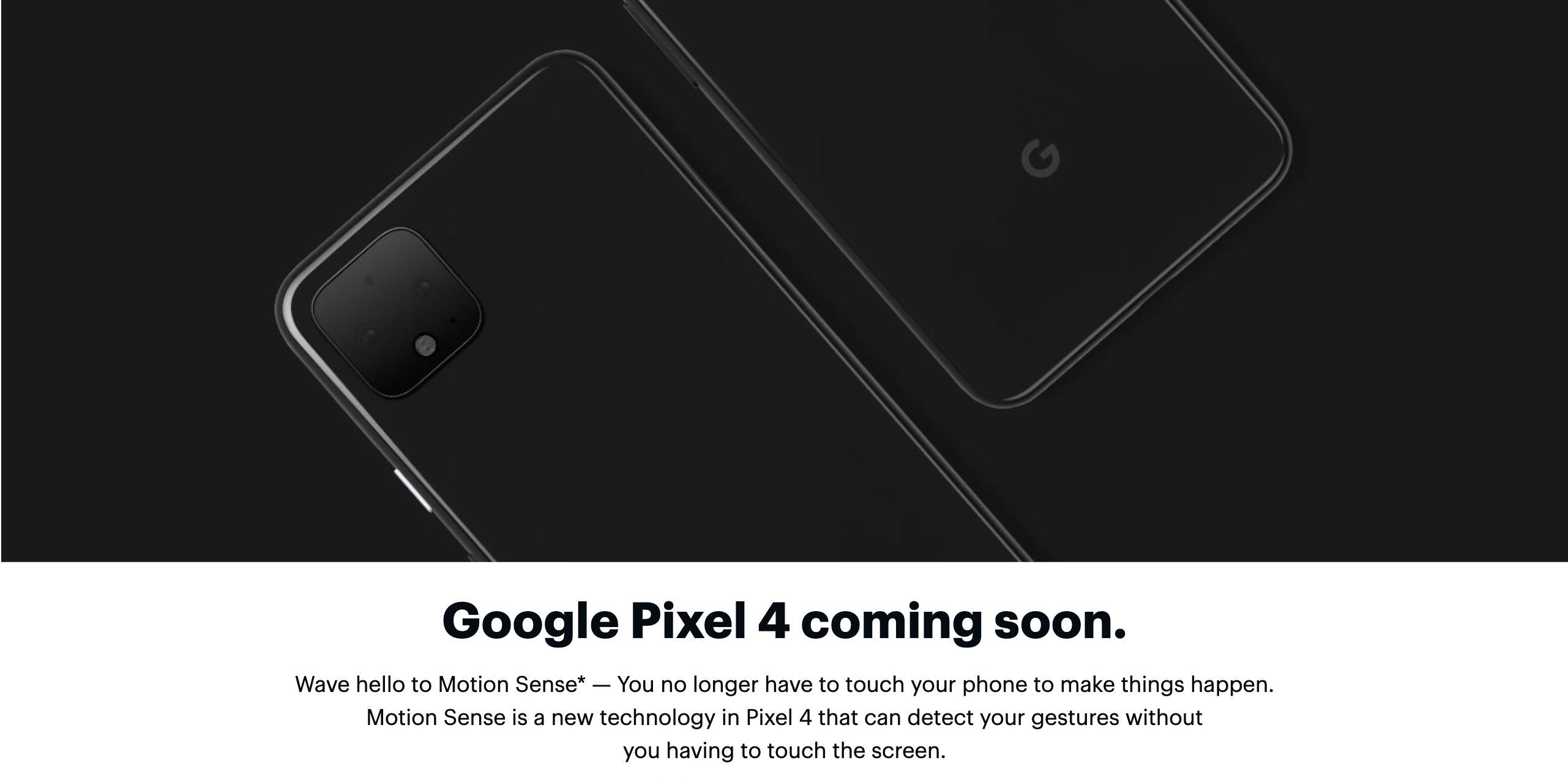 更新:Pixel 4、空間ジェスチャ「Soli」は日本で利用できず。技適など関係か