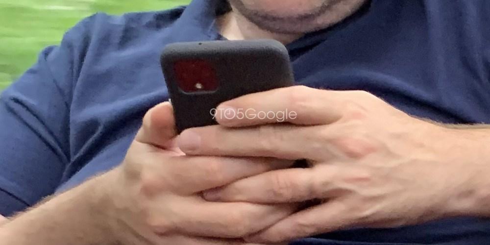 Pixel 4、発売前に実機が目撃される。巨大ベゼル採用か