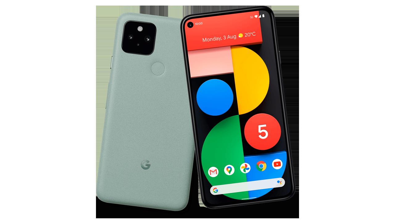 Pixel 5、今度は新色グリーンの画像流出