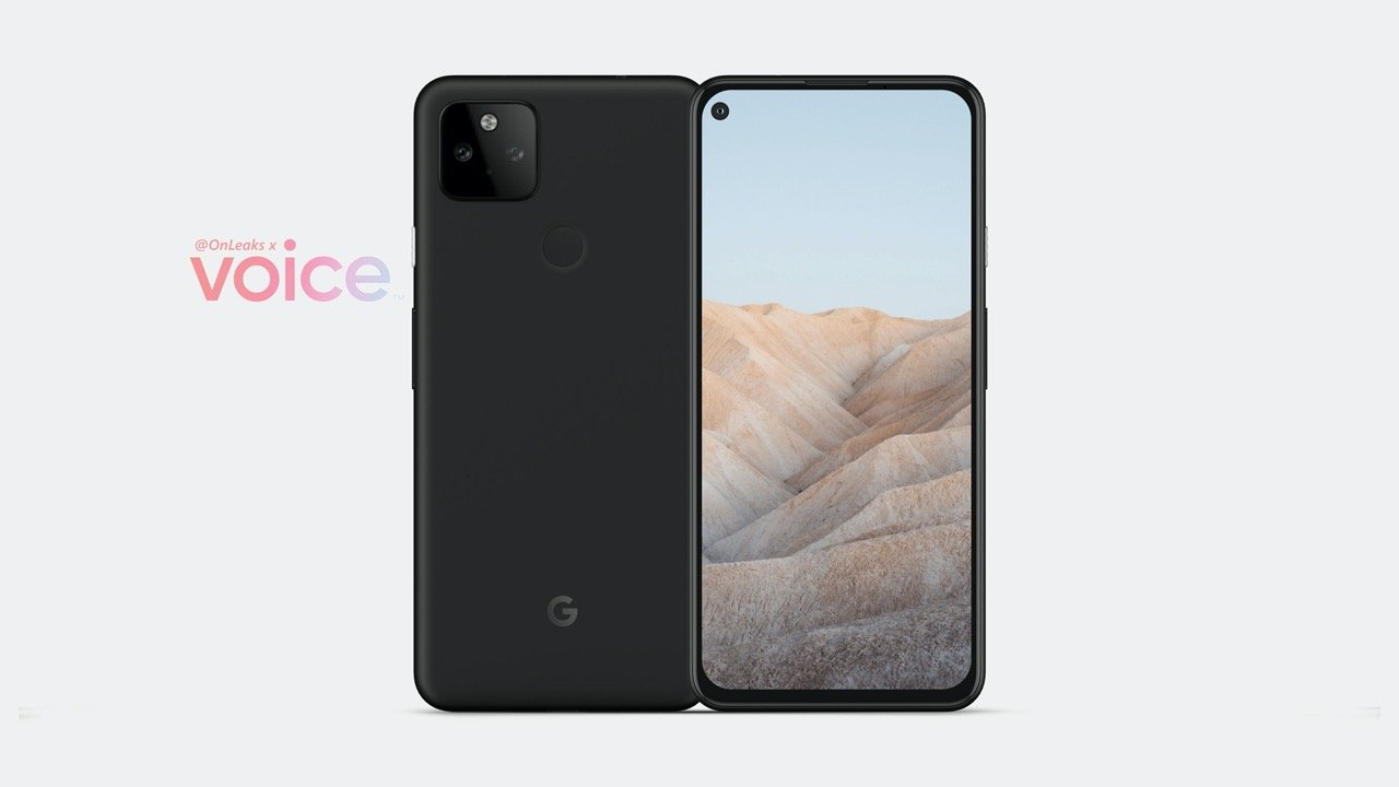 Pixel 5aの画像公開。Pixel 4a 5Gとほぼ同じデザインに