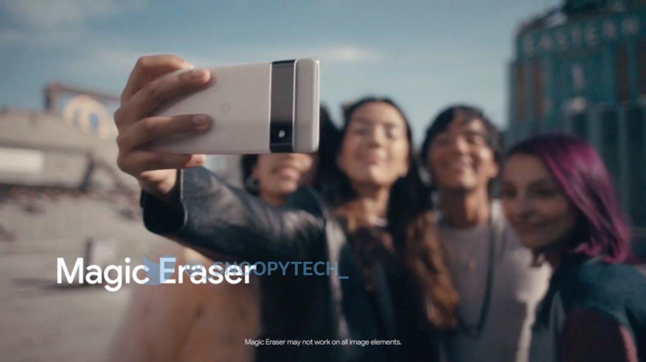 Pixel 6の公式PR動画流出。写真から不要なものを消す新機能の概要判明