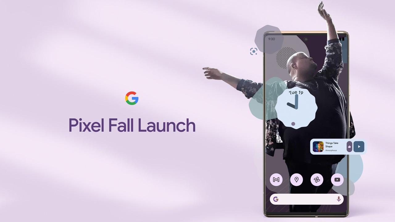 Pixel 6と新型Pixel Stand 2の公式画像が流出か