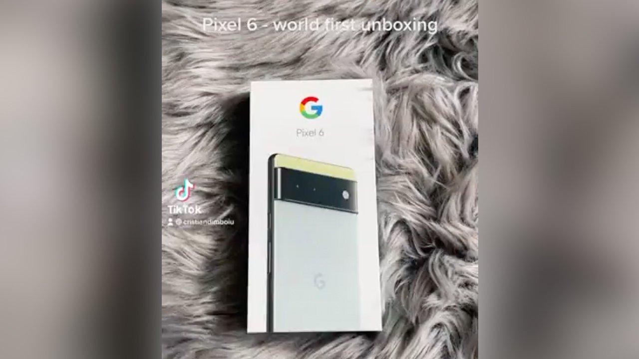 Pixel 6、発表前に開封動画と実機が公開。充電器の同梱廃止か