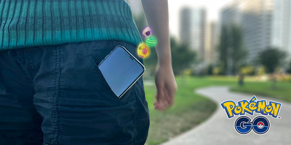 ポケモンGO、アプリ起動せずにタマゴを孵化できる「いつでも冒険モード」が間もなく登場