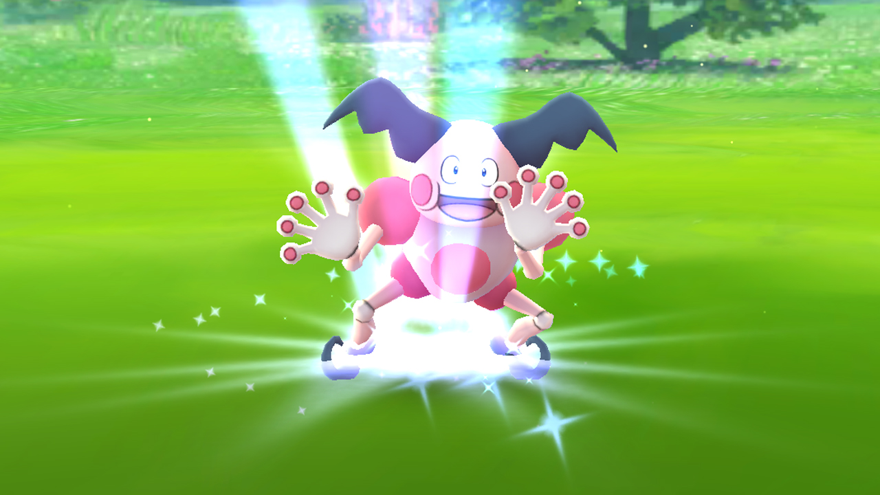 Pokémon GO PARKに「バリヤード専用エリア」が登場
