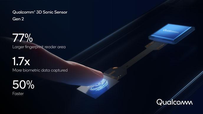遅さが欠点。Qualcommがディスプレイ指紋認証を50%高速化。認証エリアも77%拡大