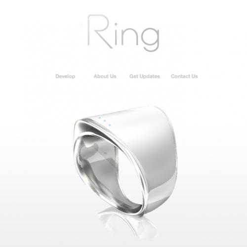 指輪型の日本製ウェアラブルガジェット「Ring」がスゴい!