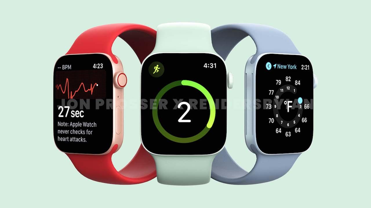 Apple Watch Series 7、薄型ベゼルで3年ぶりに大画面化か