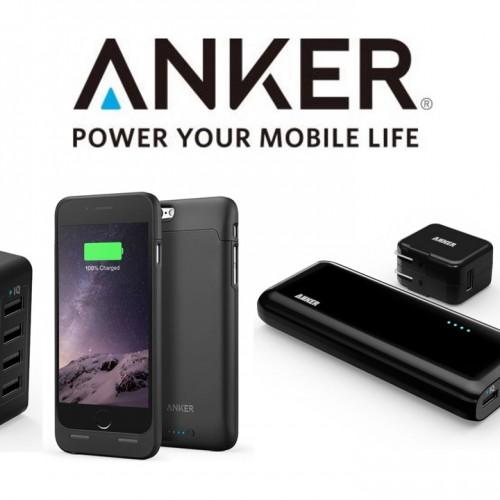 【最大53%オフ】Ankerの大容量バッテリー、高耐久USBケーブルなどタイムセール中