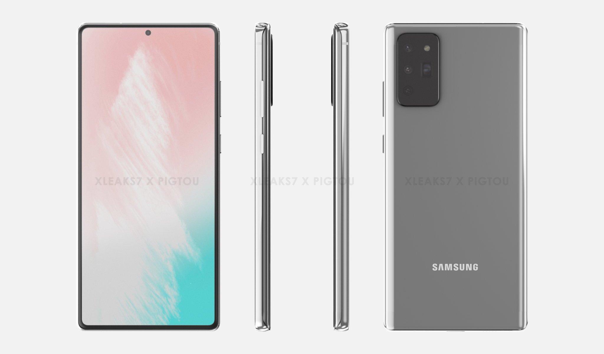 Galaxy Note20/Fold 2、8月5日発表?20日発売か