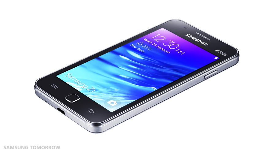 サムスン、初のTizen搭載スマホ「Samsung Z1」を正式発表――価格はたったの1万円に