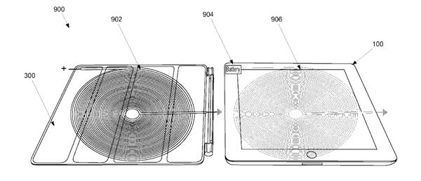 Apple、ワイヤレス充電に対応したiPadスマートカバーの特許を申請