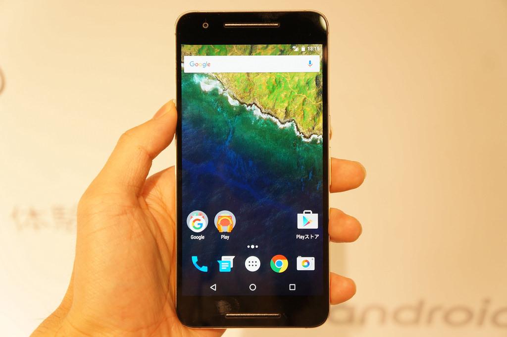 ソフトバンク、「Nexus 6P」の発売日を11月6日に――価格は78,720円〜、実質0円から